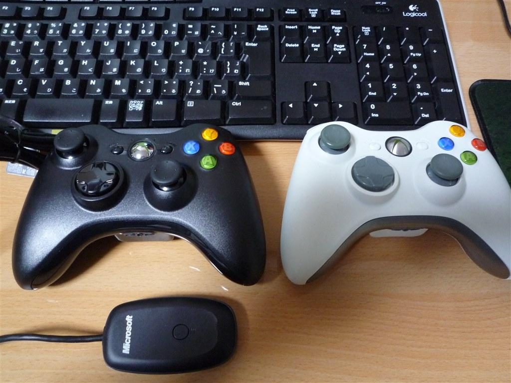 pc xbox360 コントローラー