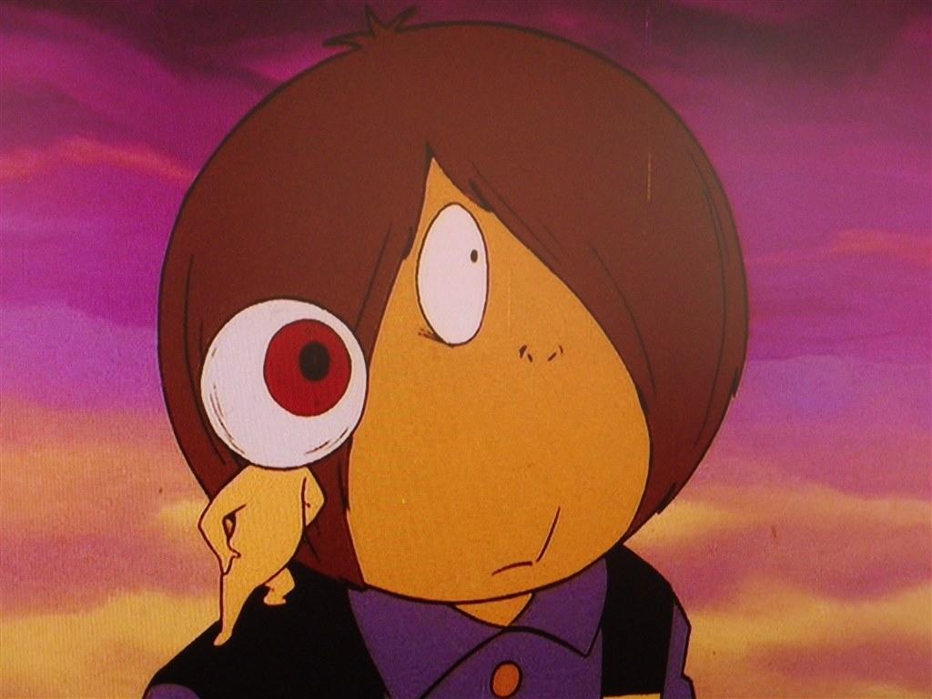 映像がカラーで怖いストーリー アニメ ゲゲゲの鬼太郎1971dvd Box