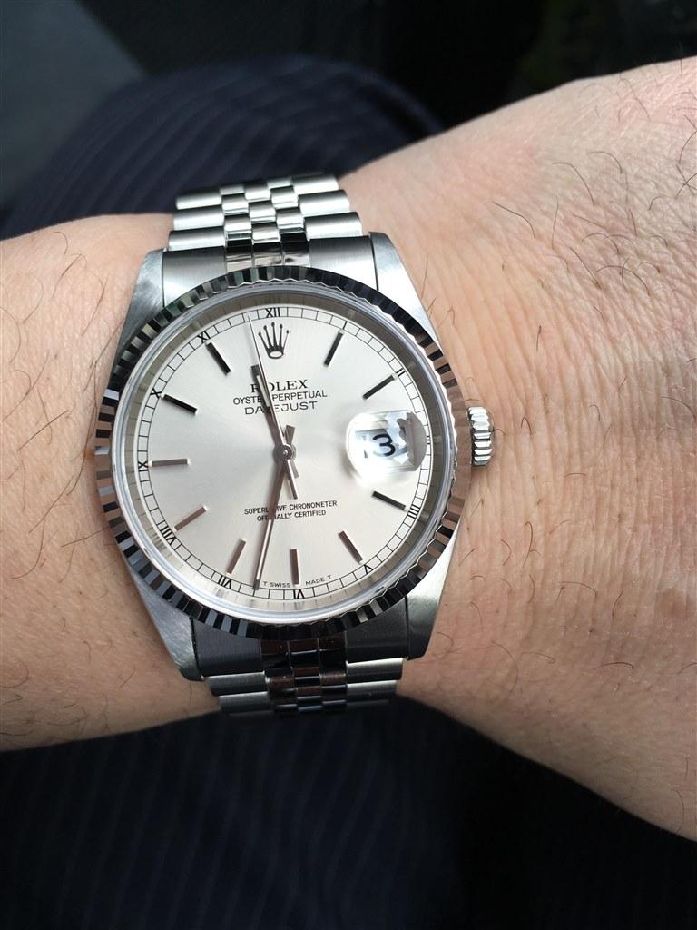 watch b2657 8bba9 116234 デイトジャスト 自動巻き(シルバー)ジュビリーブレスレット