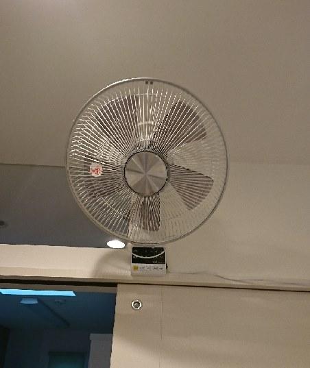 所 扇風機 洗面